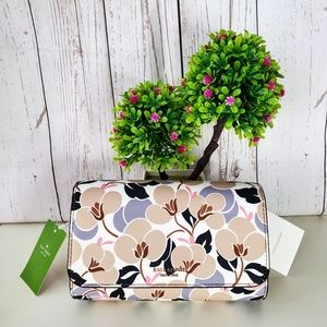 Kate Spade ♠️ Cameron Breezy Floral Small Flap